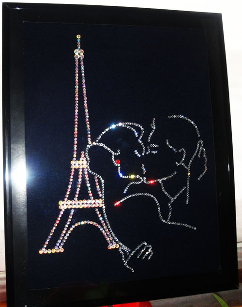 Париж картины своими руками